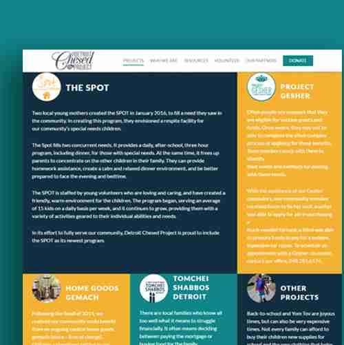 Website Design & Development   Visit Site