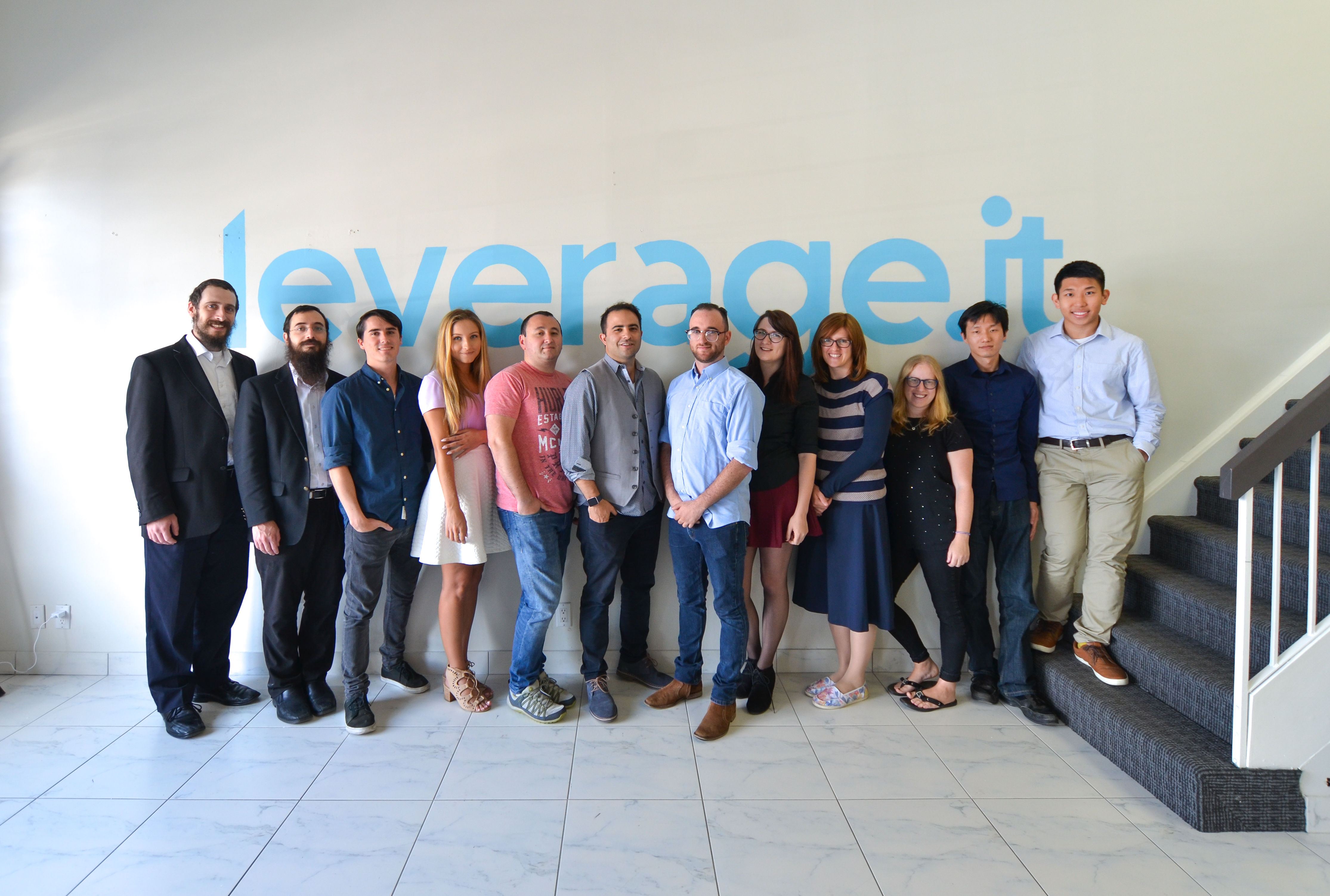 Leverage It team group photo