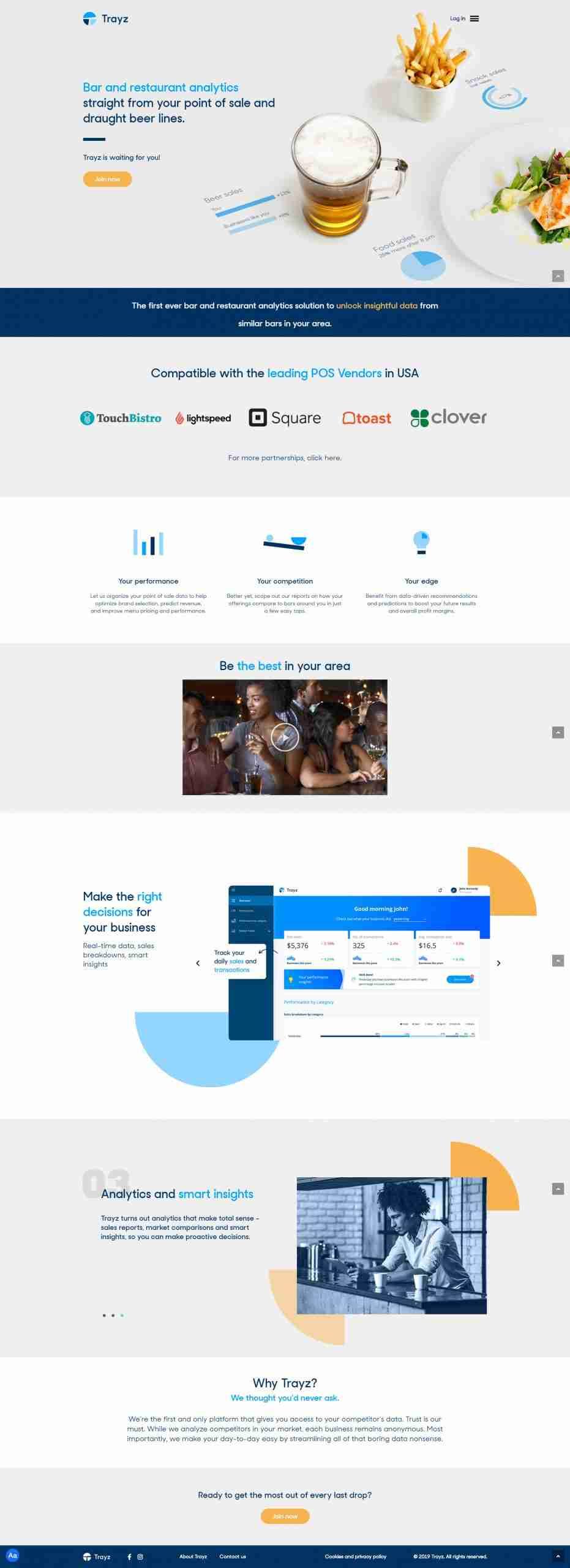 LeverageIT Trayz Website