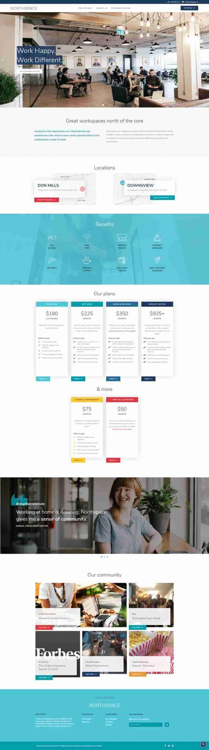 LeverageIT Northspace Website Image