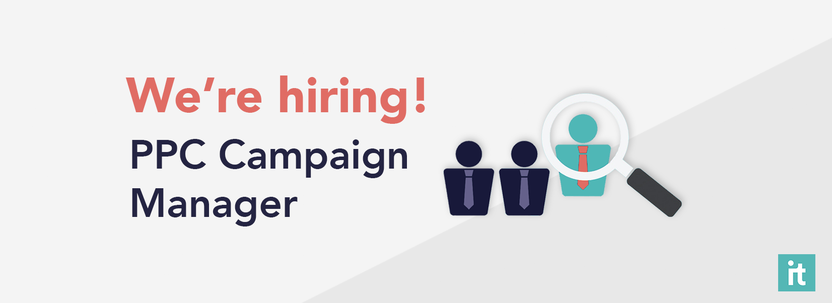 We're Hiring! PPC Campaign Manager